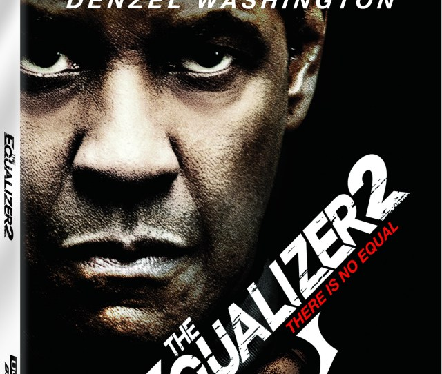 The Equalizer  K Ultra Hd Cover Sony Pictures Home Entertainment