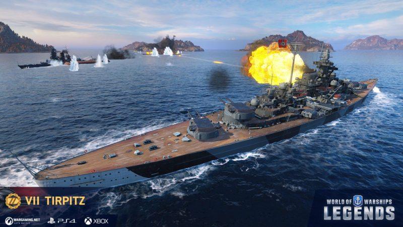 World of Warships: Legends Celebrates Its Full Release