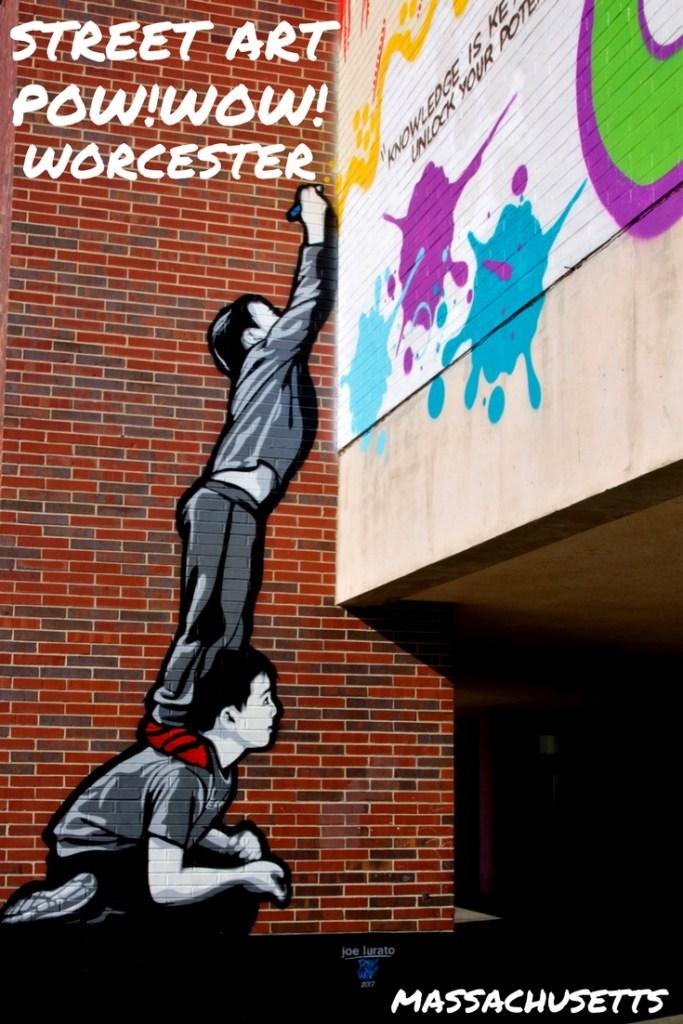 POW!WOW!Worcester street art festival