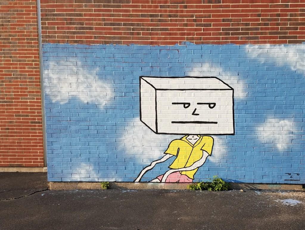 Worcester MA street art by Spencer Shea