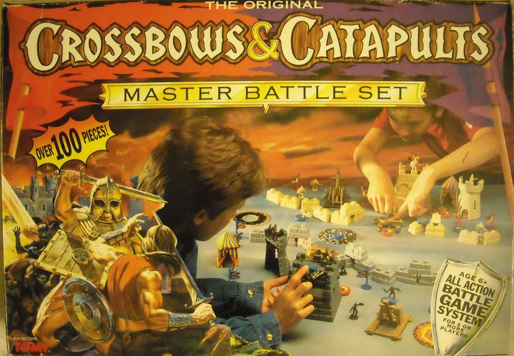 Crossbows And Catapults Strategic Battle Game From 1983