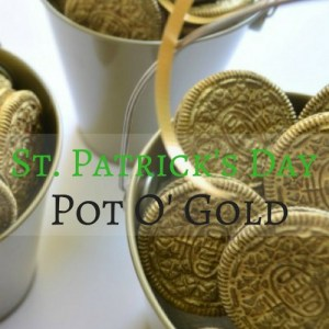 Easy DIY St. Patrick's Day Pot 'O Gold