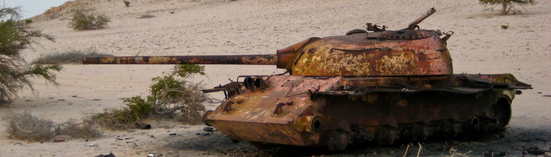 Somalia Tank Somaliland Hargeisa 2008