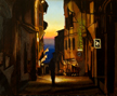 Cortona Evening/ Egg Tempera/ (c) A. Belov