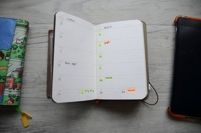 MTN - Field Notes Ambition Datebook