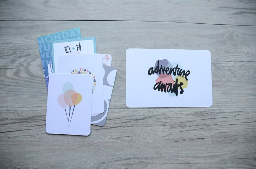 Project Life Basics - Journaling Cards