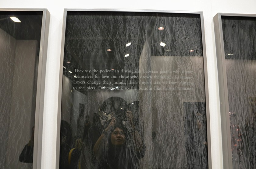 Sophie Calle - Suicide, 2014 + me