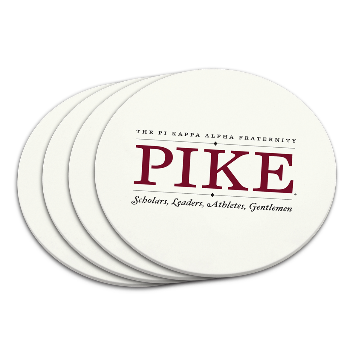 Coaster Set Pi Kappa Alpha Fraternity