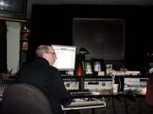 Joe Cunningham in the sound mix