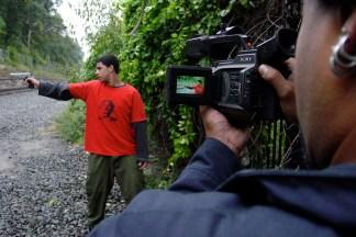 Kelvin aims Omar shoots