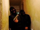 SWAT Team waits