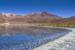 Bolivian-lake