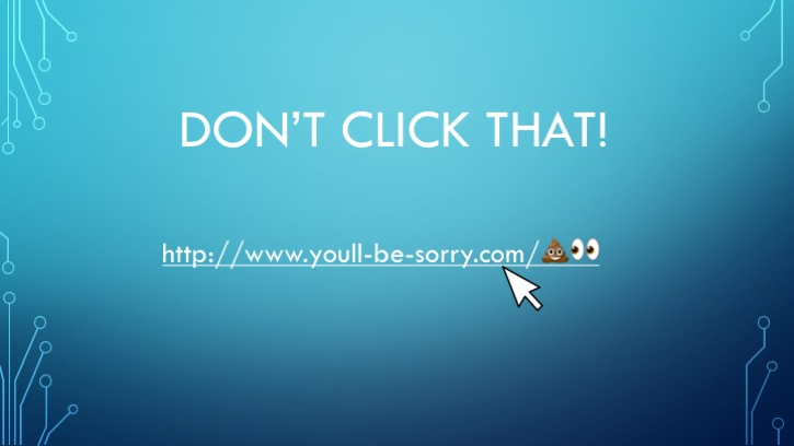 don't click that