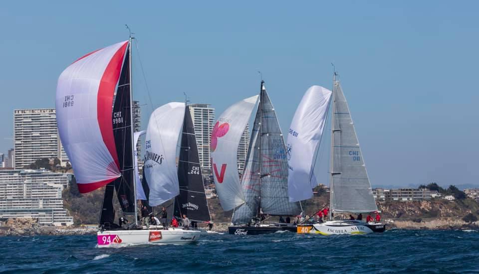 Regata Santander Aniversario CNO: Santander, Caleuche, Plan B y El Olimpo campeones
