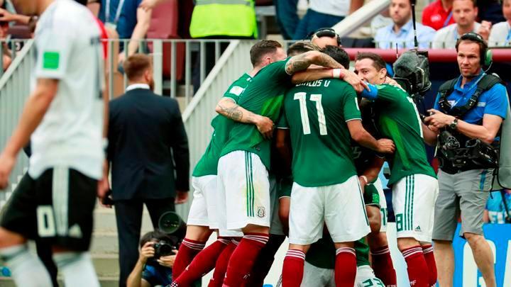 Golpe en la mesa en la Copa del Mundo: México derrotó 1-0 a Alemania