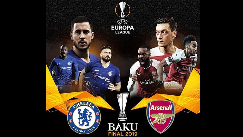 Hoy, Chelsea vs. Arsenal por la Final de la Europa League
