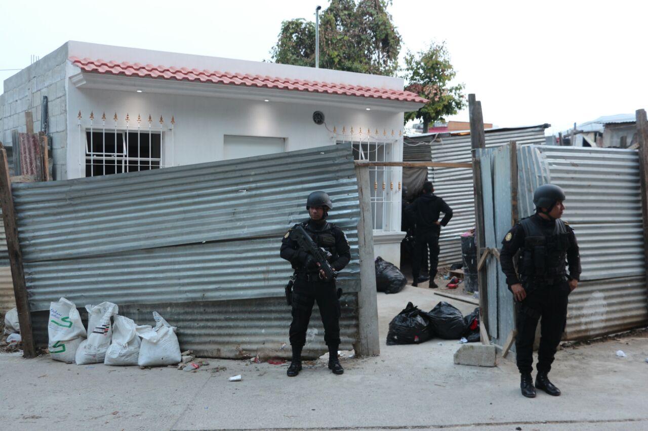 Operativos masivos contra pandilleros