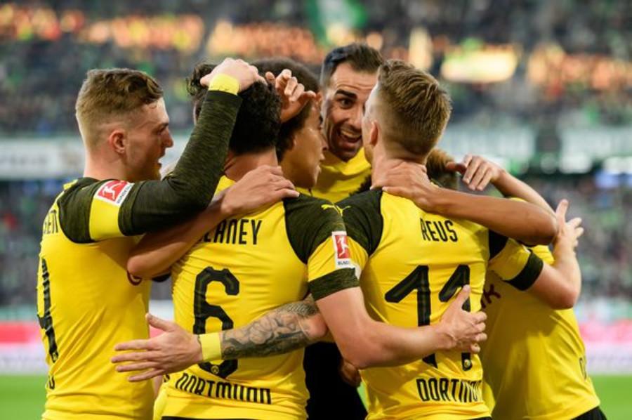Dortmund venció 3-2 al Bayern en el clásico del fútbol Alemán