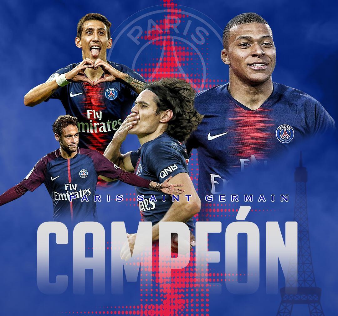 El PSG, se proclamó campeón de la Liga Francesa