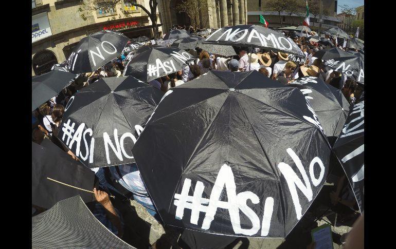 En 11 entidades se manifiestan en contra de políticas de AMLO