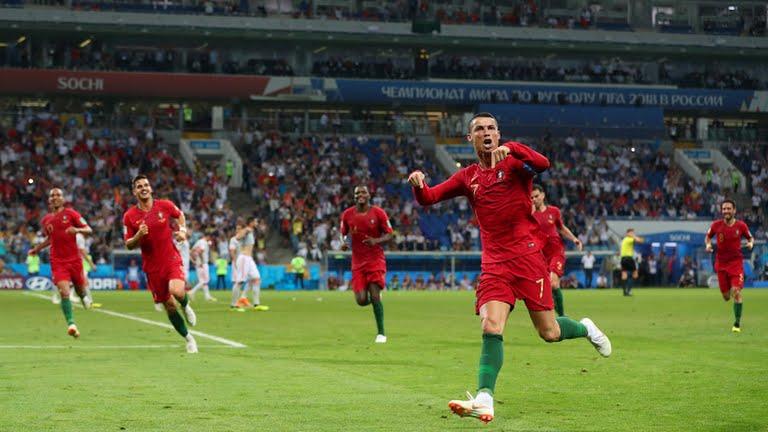 Portugal empata 3-3 ante España con Hat-Trick de Cristiano Ronaldo