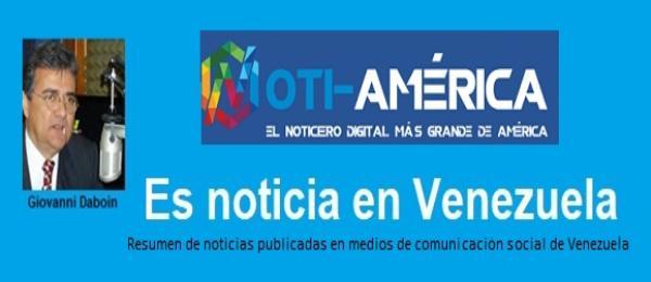 """""""Es noticia en Venezuela"""", por Giovanni Daboin"""