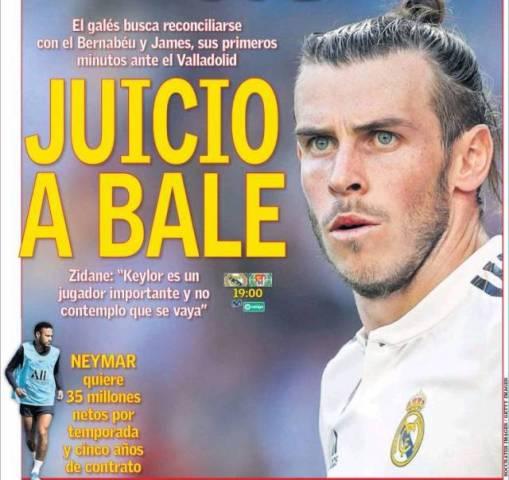 Portadas de la Prensa Deportiva de hoy sábado, 24/Agosto/2019