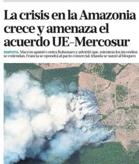 Portadas de los principales Periódicos del Mundo, sábado 24/Agosto/2019