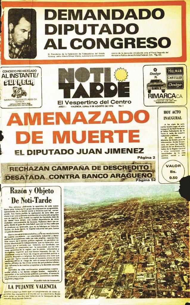 Primera Edición de Noti-Tarde