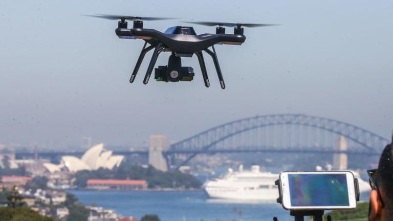 Australia aplastará Drones no identificados a partir del 2019