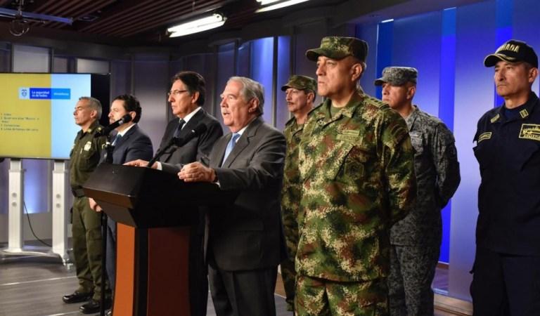 El gobierno de Colombia adjudicó el atentado al ELN