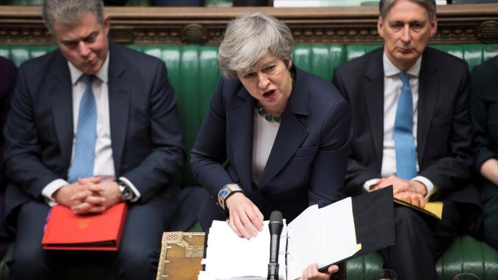 Parlamento británico vota por descartar una salida de la UE sin acuerdo