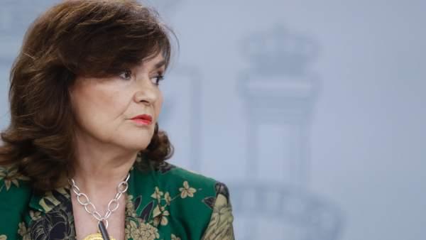 """El Gobierno critica la """"cadena de obstáculos"""" de los Franco para realizar la exhumación"""