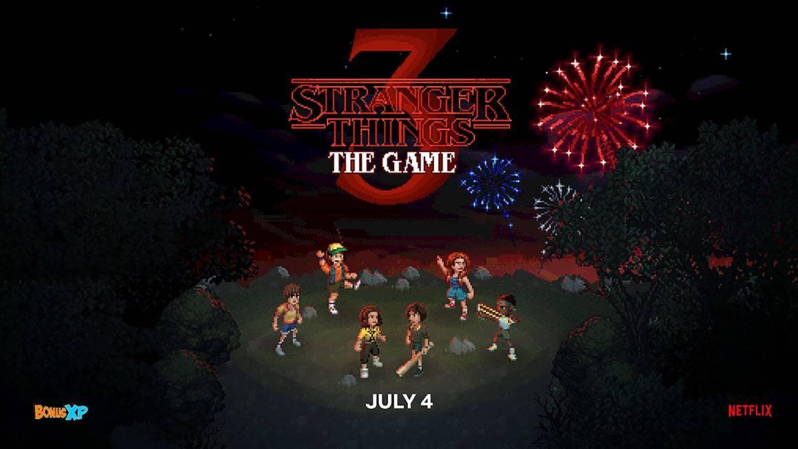 Netflix presenta el juego de Stranger Things 3