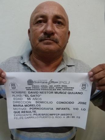 David Néstor Muñoz Quijano, alias 'El Gato' o 'El Tigre'.