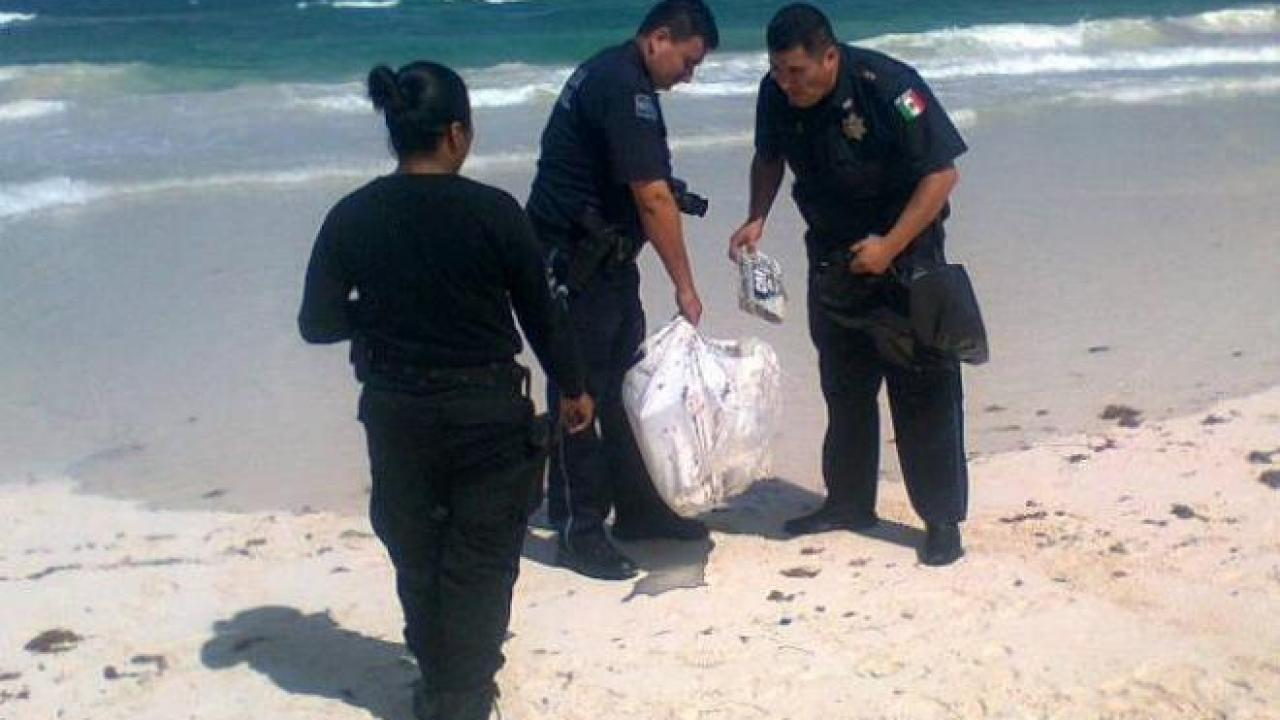 Recalan 16 'ladrillos' de cocaína en playa de Tulum – Noticaribe