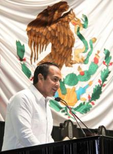 Juan Carrillo Soberanis, diputado priista e promotor de la Ley Antimarchas.