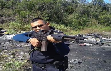 Manuel Alberto Vera Dorantes, de 28 años, elemento activo de la Policía Municipal, del Escuadrón Motorizado de Acción Policial (EMAP).