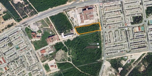 ACERCAMIENTO: Vista de satélite vía Google Maps del polémico predio.
