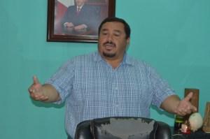 Oficial Mayor de OPB, Ezequiel Trejo Gómez.