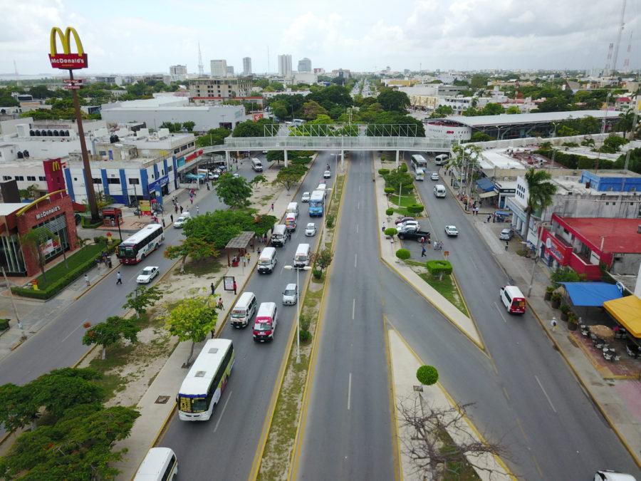 Así va el plan de movilidad en la Avenida Tulum de Cancún | VIDEO
