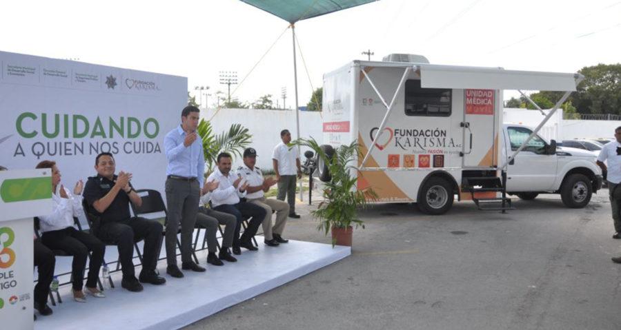 Ponen en marcha Unidad Médica Móvil Especializada en Enfermedades Crónico–Degenerativas en Cancún