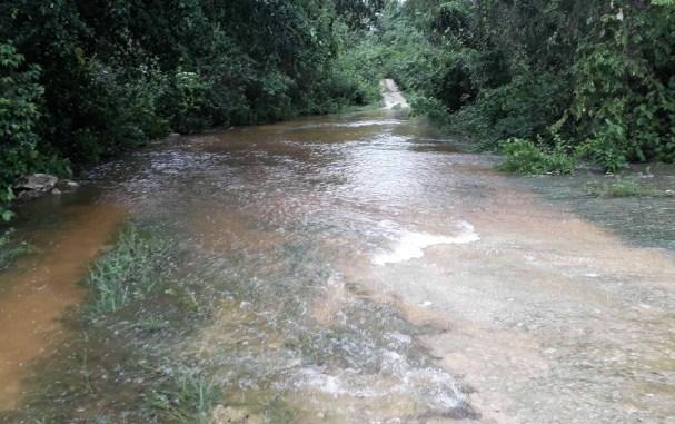 Franklin afecta cultivos en la Zona Maya