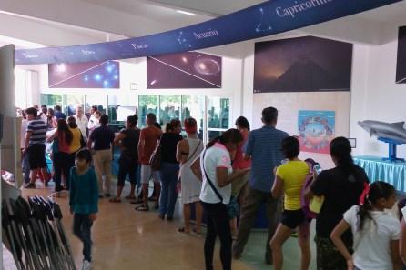 Eclipse Solar visto desde el Planetario Ka´Yok Cancún