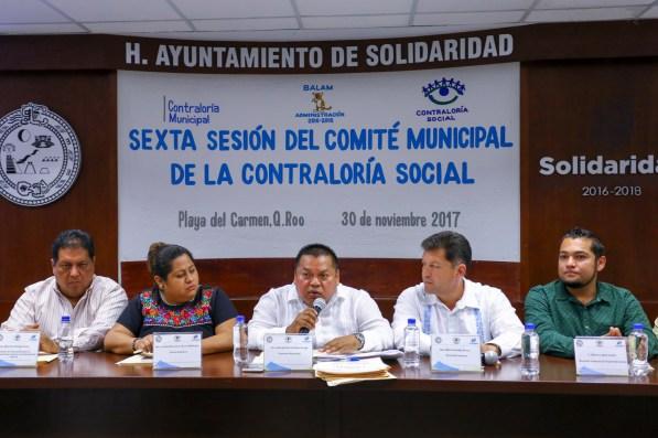 SEXTA SESIÓN DEL COMITÉ CONTRALORÍA SOCIAL