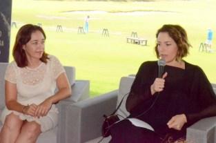 Cancún.- Alondra de la Parra ofrece conferencia a los medios de comunicación donde da detalles del concierto que ofrecerá esta noche en el Campo de Golf de Puerto Cancún.