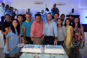 Frank López celebra su cumpleaños