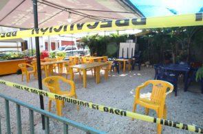 Mantienen vigilancia en restaurante atacado