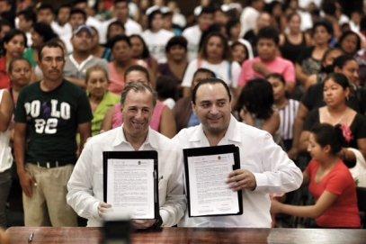 Roberto-Borge-y-Antonio-Meade-firman-acuerdo