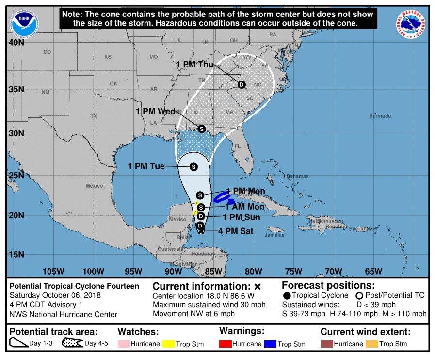 Tormenta podría incrementarse a huracán, amenaza a México y EU